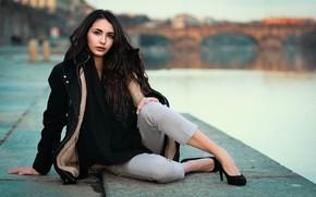 Picture girl, model, Nicole