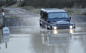 Picture prototype, Land Rover, Defender, Ford, 2013, All-terrain Electric Research Vehicle
