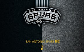 Picture wallpaper, sport, logo, basketball, NBA, San Antonio Spurs