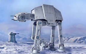 Picture transport, AT-AT, armored, Walker, Shipyards Of Kuat, The at series, All-terrain