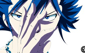 Picture look, guy, Fairy Tail, Grey Fullbuster, Fairy tail