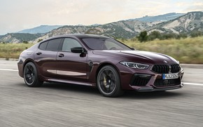 Picture asphalt, coupe, BMW, 2019, M8, the four-door, M8 Gran Coupe, M8 Competition Gran Coupe, F93