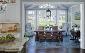 Picture room, interior, kitchen, dining room