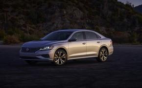 Picture Volkswagen, sedan, Passat, four-door, 2020, 2019, US Version