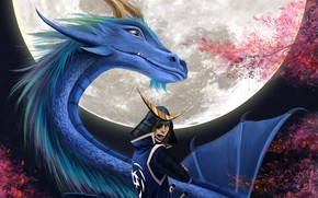 Picture dragon, samurai, Sengoku Basara, The Era Of Unrest