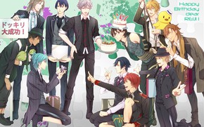Picture anime, art, guys, Singing Prince, Uta no prince