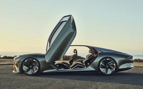 Picture coupe, Bentley, door, salon, concept car, 2019, EXP 100 GT
