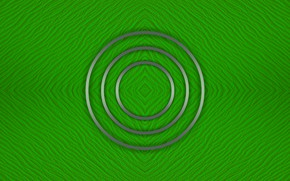 Picture circles, green, background, texture