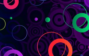 Picture color, circles, circle