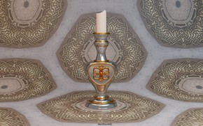Picture art, candle holder, decor, AlexStormND