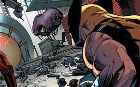Picture Costume, Soldiers, Hero, Wolverine, Logan, Comic, Superhero, Hero, Cyclops, Wolverine, Logan, Marvel, Marvel Comics, Comics, …