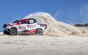 Picture Sand, Auto, Sport, Machine, Toyota, Hilux, 302, Rally, SUV, Rally, Sport, Toyota, Hilux, Toyota Hilux, …