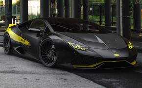 Picture Auto, Black, Lamborghini, Machine, Car, Auto, Black, Supercar, Supercar, Sports car, Sportcar, Huracan, Lamborghini Huracan, ...