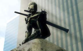 Picture Snake, ninja, raiden, Metal Gear Rising: Revengeance, cyborg, mgs, jack the ripper, mgr, White Devil