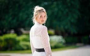 Picture look, girl, pose, model, dress, Karlie Kloss