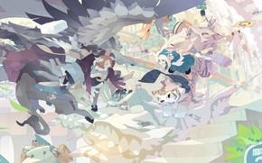 Picture Girls, Animals, Fantasy, Art, akitsu taira
