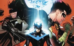 Picture characters, comic, Batman