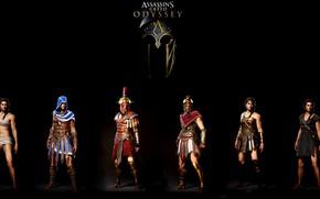 Picture Armor, Cassandra, Kassandra, Assassin's Creed, Armor, Assassin's Cred Odyssey, Mystia