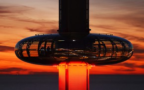 Picture England, tower, Brighton, lookout, British Airways i360