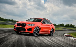 Picture BMW, racing track, crossover, Competition, X4 M, 2020