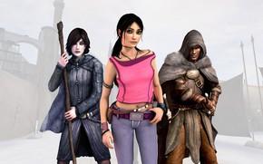 Picture the game, adventure, Game, April, Zoe, Dreamfall: The Longest Journey, Funcom, Kian, Эйприл Райан, Киан, …