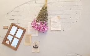 Picture Flower, Wall, Creative, Interior, Mood