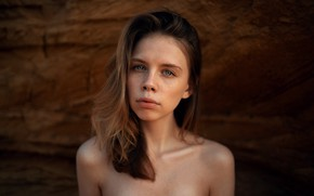 Picture girl, portrait, Lena, Maxim Gontarev