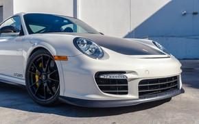 Picture Bumper, The hood, 2011, The front, Carbon fiber, Porsche 911 GT2RS