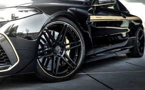Picture black, tuning, coupe, wheel, BMW, disk, Manhart, 2020, BMW M8, 4.4 L., two-door, V8 Biturbo, …