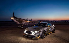 Picture Ford, the evening, RTR, 2018, Mustang GT, Eagle Squadron