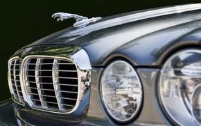 Picture Jaguar, 2005, XJ Vanden Plas, classic British cars