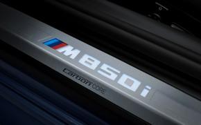 Picture the inscription, coupe, BMW, Coupe, 2018, the threshold, 8-Series, M850i xDrive, Eight, G15