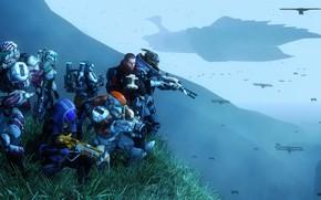 Picture star wars, shepard, Mass Effect, crossover, garrus vakarian, turian, Quarian, Glubinny Zorah nar Rayya
