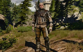 Picture the Witcher, kaer morhen, wolf armor