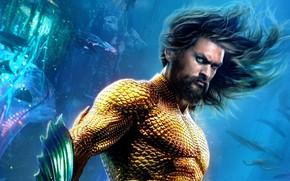 Picture fantasy, Aquaman, Jason Momoa, Aquaman