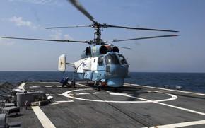 Picture Helicopter, Ukraine, Navy, Ka-27, Ka-27PS, Ukrainian Navy, USS Taylor, The Ukrainian Navy