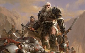 Picture weapons, armor, warrior, the winner, Clash Of Wonders