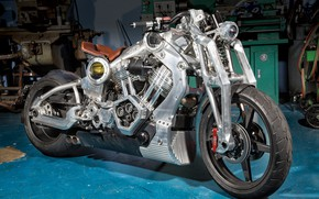Picture motorcycle, bike, motorcycle, superbike, Confederate P51, Confederate Combat