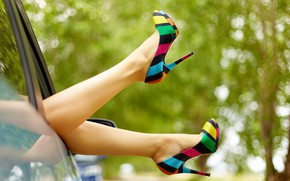 Picture girl, sexy, legs, style, beautiful, colorfull