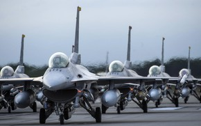 Picture F-16, Fighting Falcon, UNITED STATES AIR FORCE, General Dynamics