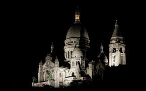 Picture Paris, night, Architecture, Basilique, Capital