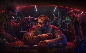 Picture gun, the bandits, men, bits, mafia, Kingpin: Reloaded
