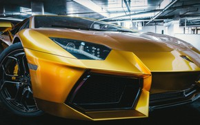 Picture Auto, Lamborghini, Machine, Supercar, Aventador, lp700-4, Lamborghini Aventador, The front, Sports car, Transport & Vehicles, …