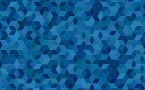 Picture mosaic, abstraction, diamonds