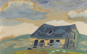 Picture 1919, Charles Ephraim Burchfield, Old Barn