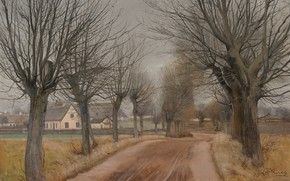 Picture Zealand, Zealand, Danish painter, 1898, Laurits Andersen Ring, Lauritz Andersen Ring, Danish painter, Statens Museum …