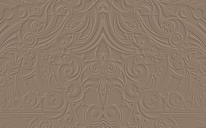 Picture patterns, a remake, embossed, hellena