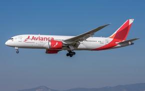 Picture Boeing, 787-8, Avianca