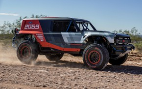 Picture Ford, side, primer, 2019, Bronco R Race Prototype
