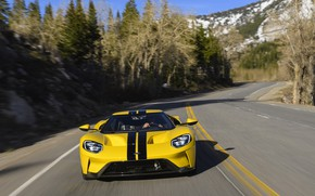 Picture Ford, supercar, Ford GT, front view, 2017